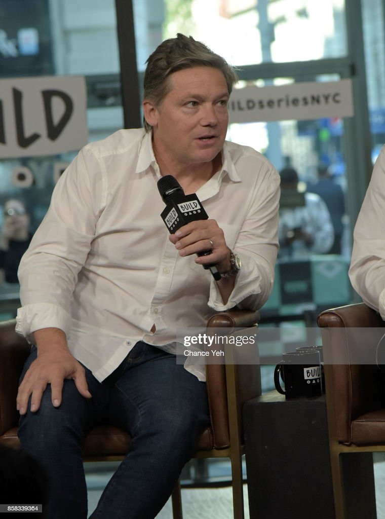 Oren Koules attends Build series to discuss 'Jigsaw' at Build Studio on October 6, 2017 in New York City.