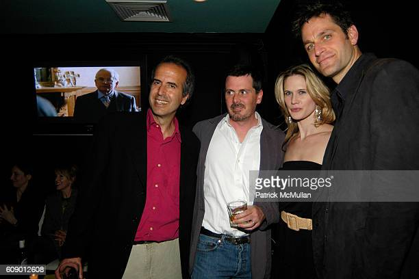 Oren Rudavsky Chris Eigeman Stephanie March and Peter Hermann attend The Treatment Premier Party at Mantra 986 on May 4 2007 in New York City