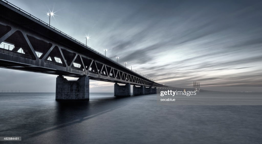 Oresund Link Bridge filtered