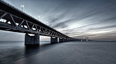 Oresund Link Bridge filtered