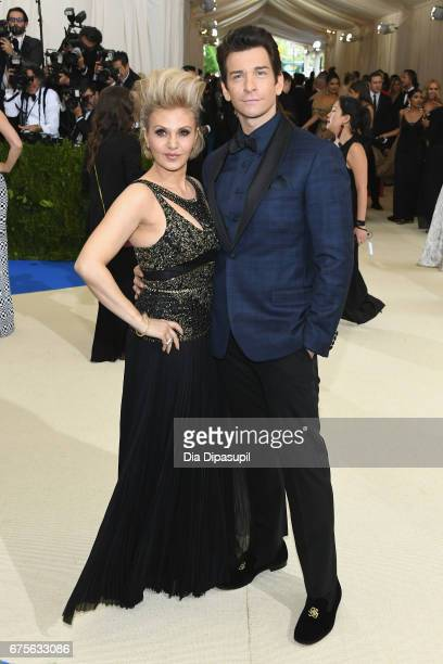 Orfeh and Andy Karl attend the 'Rei Kawakubo/Comme des Garcons Art Of The InBetween' Costume Institute Gala at Metropolitan Museum of Art on May 1...