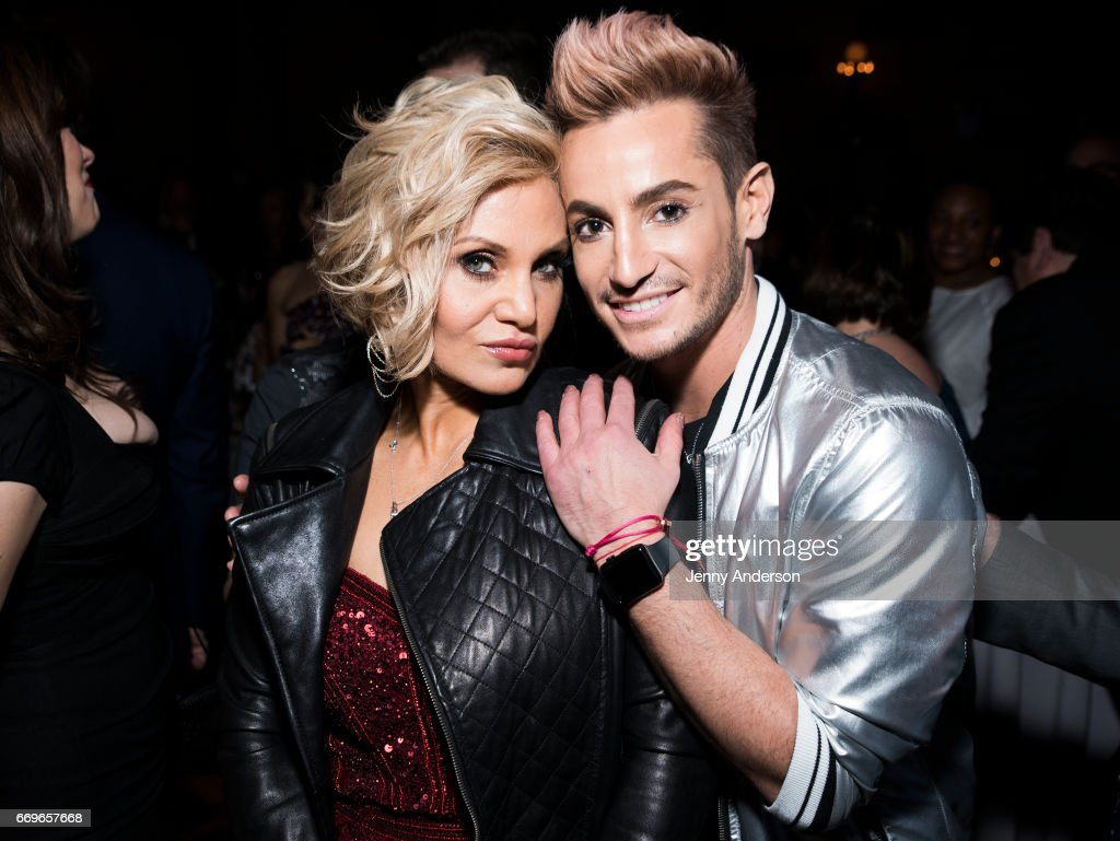 orfeh and frankie james grande attend groundhog day broadway opening picture id669657668