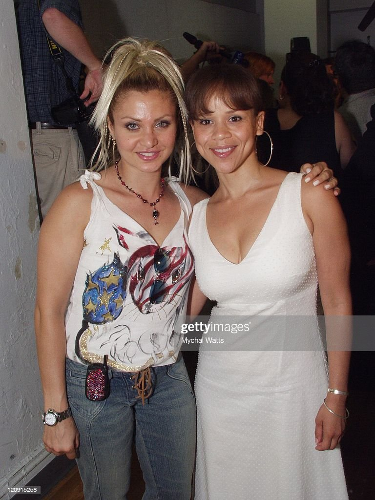 Orfeh and Rosie Perez