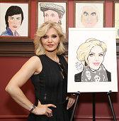 Orfeh's Sardi's Portrait Unveiling