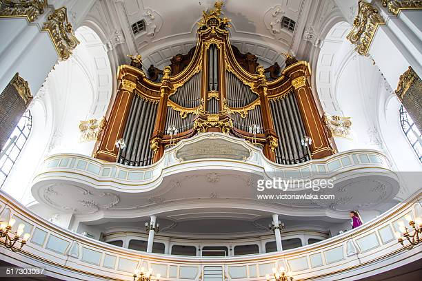 Organ at St. Michaelis Church, Hamburg, Germany