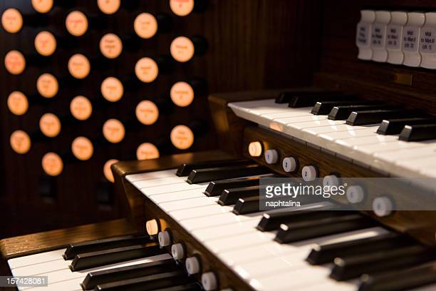 Organ keyboards