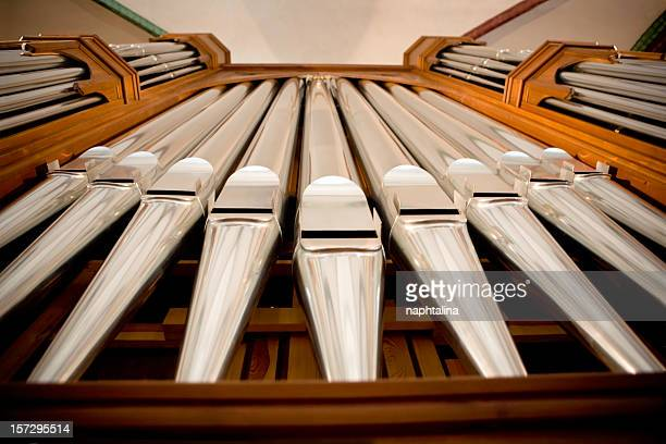 Organ Pipes from Bottom