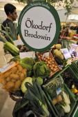 Organic 'bio' vegetables are on display at the International Green Week Food and Agriculture Trade Fair in Berlin January 22 2009 The Netherlands is...