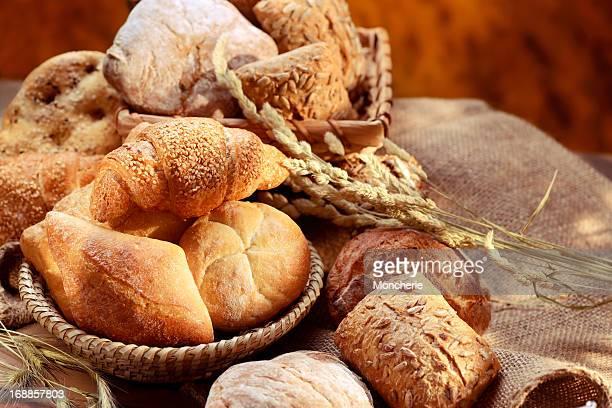 Assortiment de pains bio