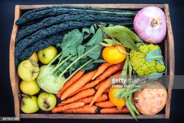 Organic Fruit and Vegetables from the Farmer's Market
