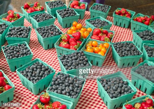 Organic fruits : Foto stock