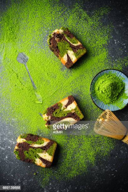 Orgánicos verde té Matcha