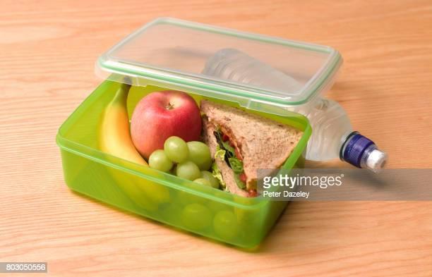 Organic healthy 5 a day lunch box