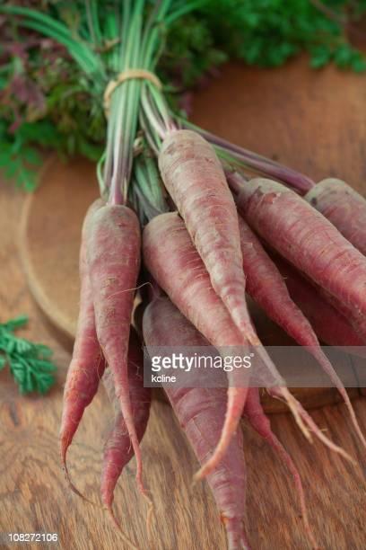 Violet bio carottes