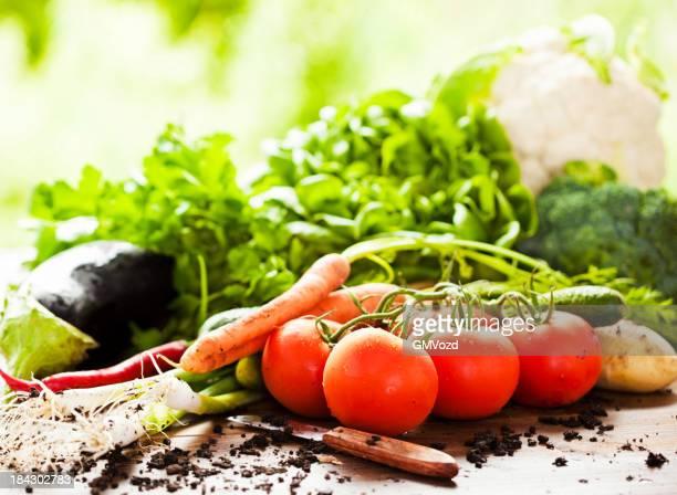 Légumes biologiques frais du marché