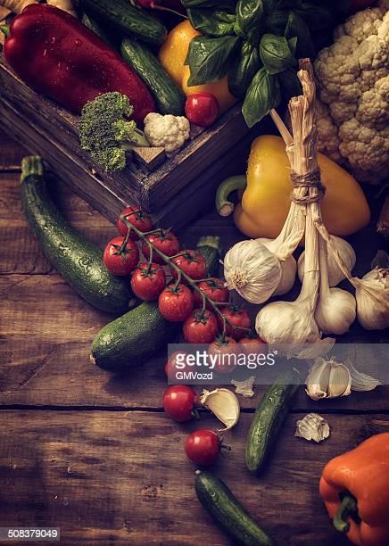 Bio-Gemüse frisch vom Markt