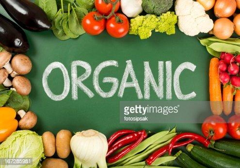 Orgânicos produtos hortícolas