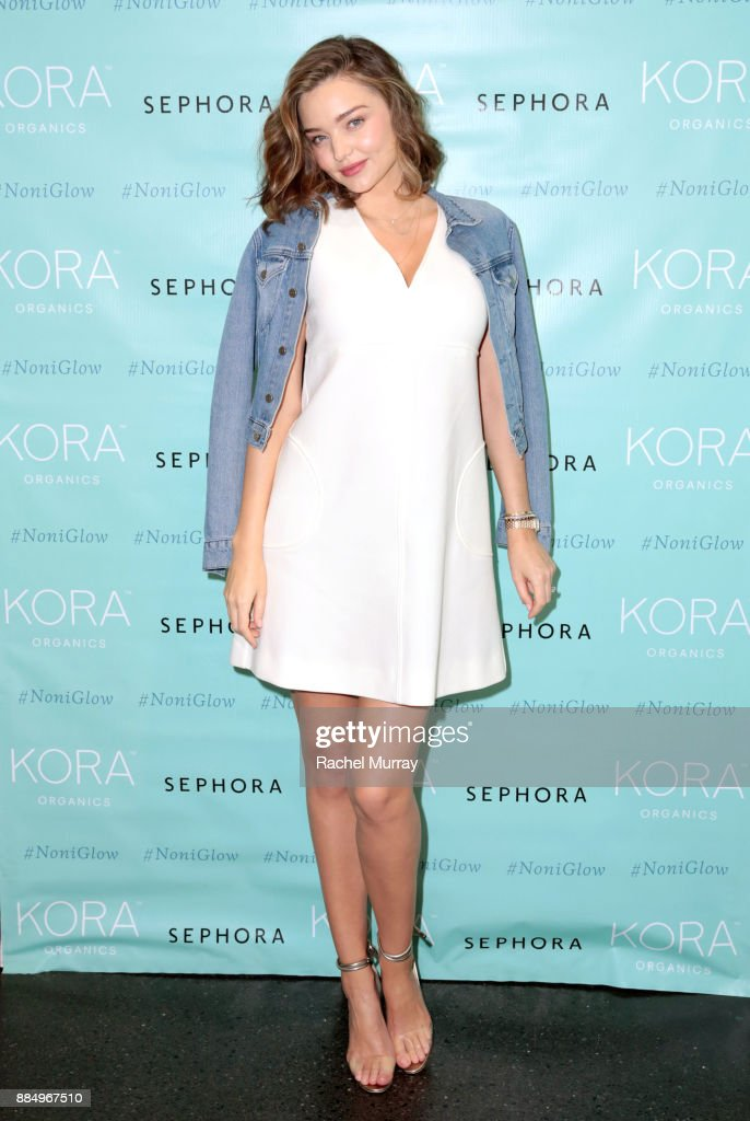 KORA Organics Personal Appearance with Miranda Kerr at Sephora in Santa Monica