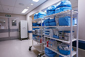 Shot of shelves stocked with medical supplies in an empty hospital wardhttp://195.154.178.81/DATA/i_collage/pu/shoots/806399.jpg