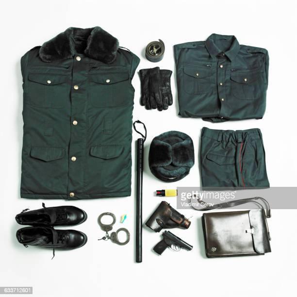 Organized military uniform and equipment