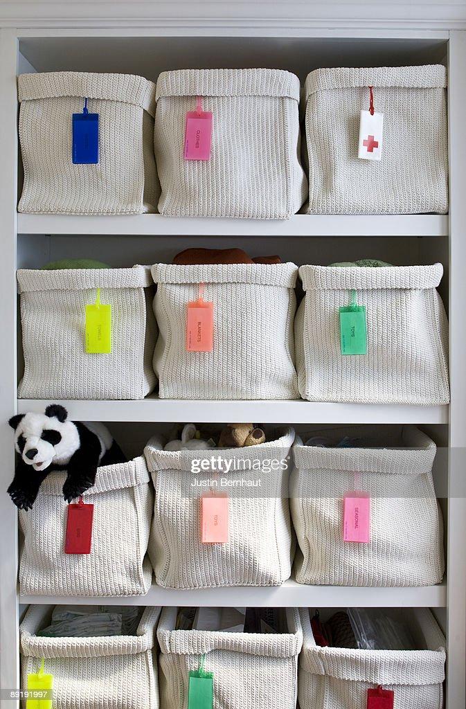 Organizing Children's Bedroom