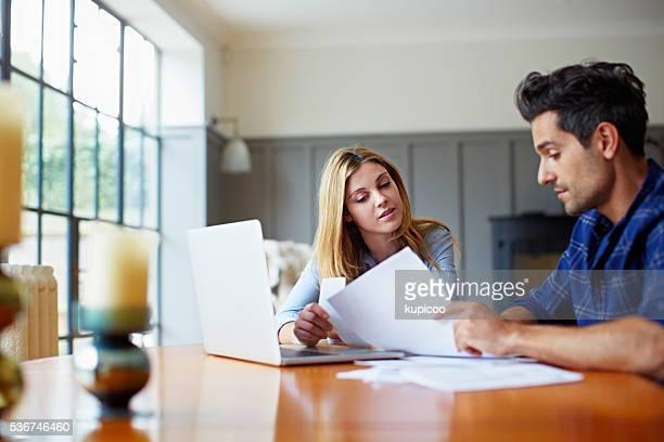 Organizing the household finances