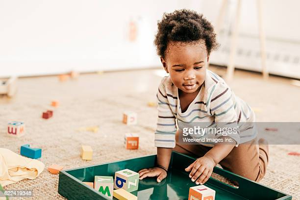 Organizing toddlers toys