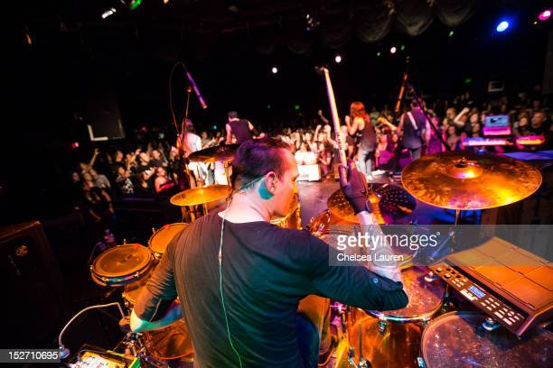 Orgy performs at The Roxy Theatre on September 23 2012 in West Hollywood California