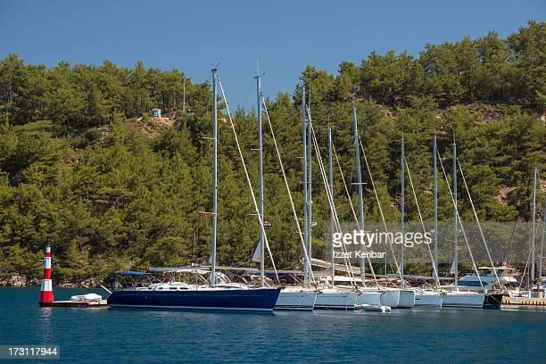 Orhaniye Marina on the Bozburun Peninsula