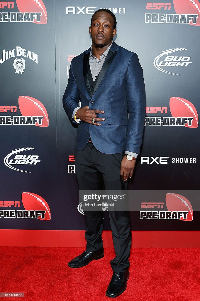Orhiam Johnson attends the 10th Annual ESPN The Magazine Pre-Draft Party at The IAC Building on April 24, 2013 in New York City.