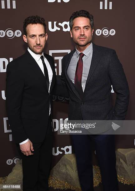 Ori Pfeffer and Omar Metwally attend 'Dig' Series New York Premiere at Capitale on February 25 2015 in New York City