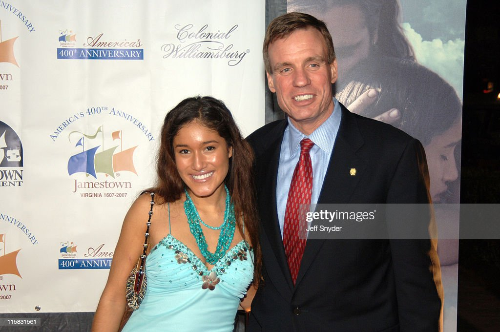 Q'oriana Kilcher and Virginia Governor <a gi-track='captionPersonalityLinkClicked' href=/galleries/search?phrase=Mark+Warner&family=editorial&specificpeople=2251151 ng-click='$event.stopPropagation()'>Mark Warner</a>