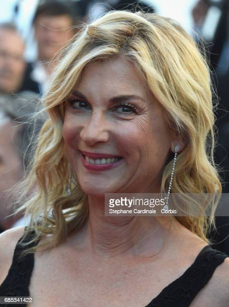 Oriane Deschamps attends the 'Okja' premiere during the 70th annual Cannes Film Festival at Palais des Festivals on May 19 2017 in Cannes France