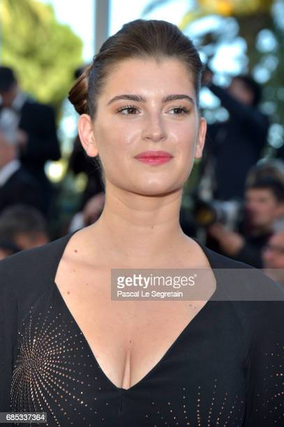Oriane Deschamps attends the 'Okja' screening during the 70th annual Cannes Film Festival at Palais des Festivals on May 19 2017 in Cannes France
