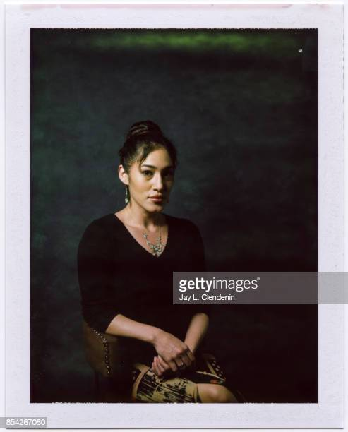 Q'orianka Kilcher from the film 'Hostiles' is photographed on polaroid film at the LA Times HQ at the 42nd Toronto International Film Festival in...