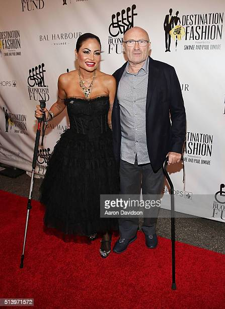 Orianne Cevey and Phil Collins attends Destination Fashion 2016 to benefit The Buoniconti Fund to Cure Paralysis the fundraising arm of The Miami...