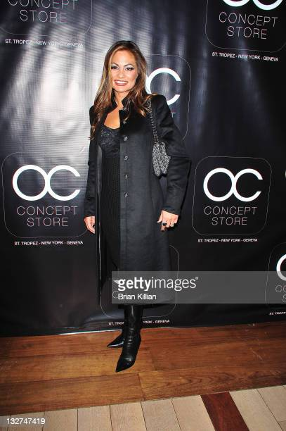 Orianne Collins attends the after party for the opening of the OC Concept Store at Rouge Tomate on October 14 2010 in New York City