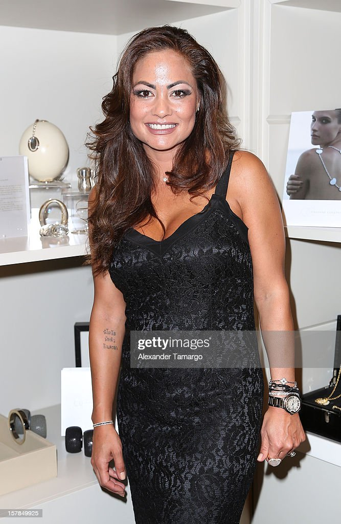 Orianne Collins Mejjati attends FENDI Casa's Art Basel cocktail party honoring the contemporary artwork of Andy Warhol with Elle Decor at FENDI Casa Luxury Living Showroom on December 6, 2012 in Miami, Florida.