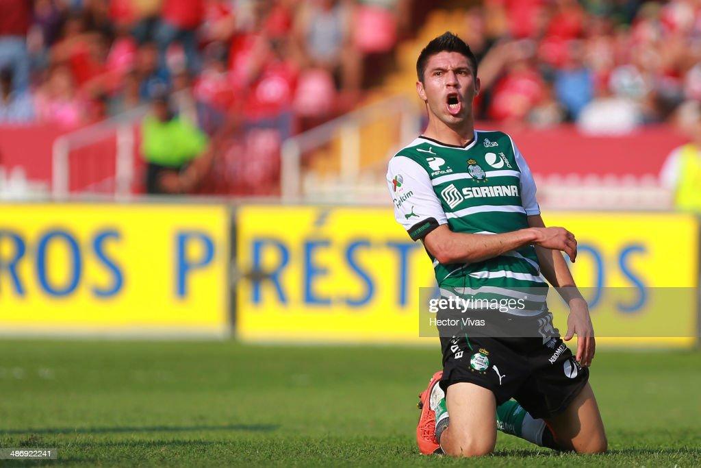 Veracruz v Santos - Clausura 2014 Liga MX