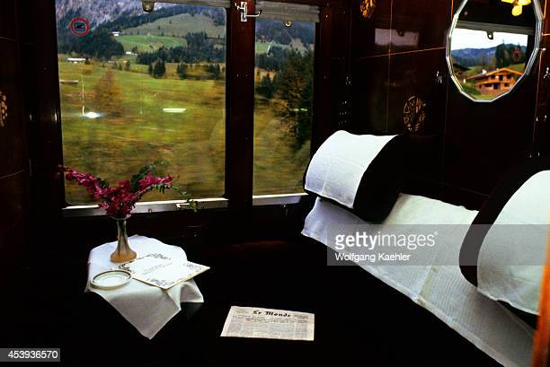 Orient Express Train Compartment