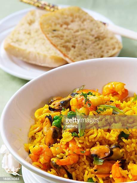 Orientalische paella