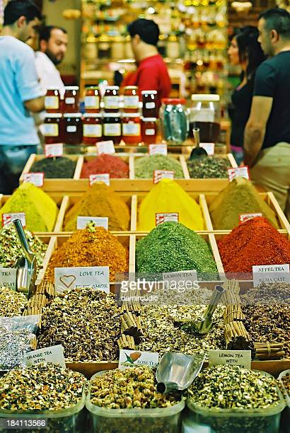 Oriental spices shop