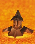 Origami Armor ?Yoroi)and Helmet?Kabuto) , High Angle View
