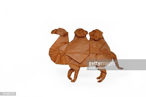 Origami Bactrian Camel