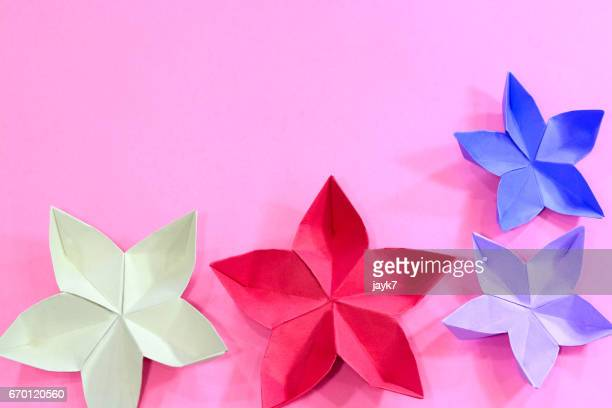 Origami Cherry Blossom Flower