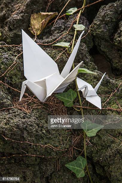 Origami Crane Mother and Baby Origami is the Japanese word for paper folding Ori means fold and gami means paper It is the art of paper folding that...