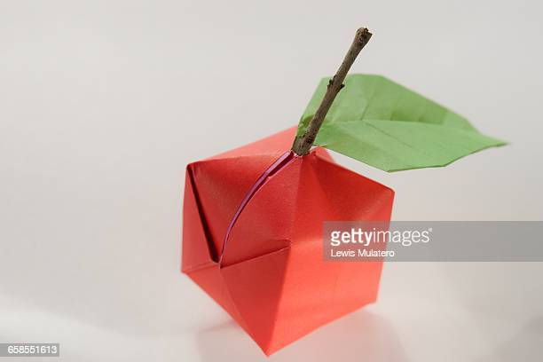 Origami Fruits Stock Photos And Pictures Getty Images