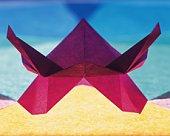 Origami Helmet?Kabuto) , High Angle View