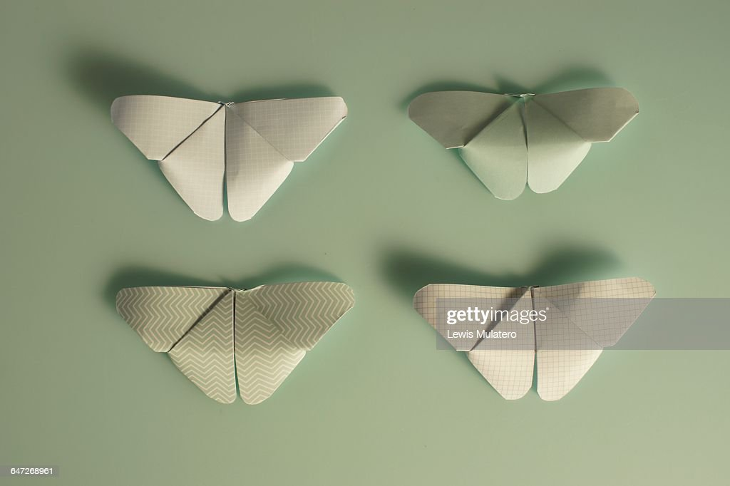 origami objects stock photo getty images