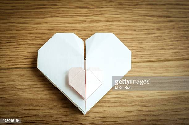 Origami Paper Heart